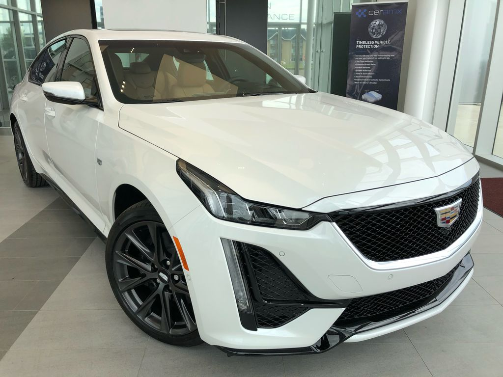 White[Crystal White Tricoat] 2020 Cadillac CT5