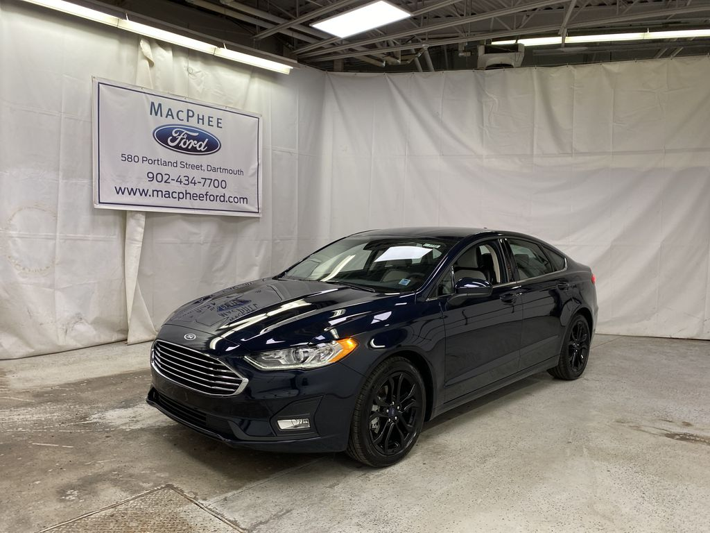 Blue[Alto Blue Metallic Tinted Clearcoat] 2020 Ford Fusion