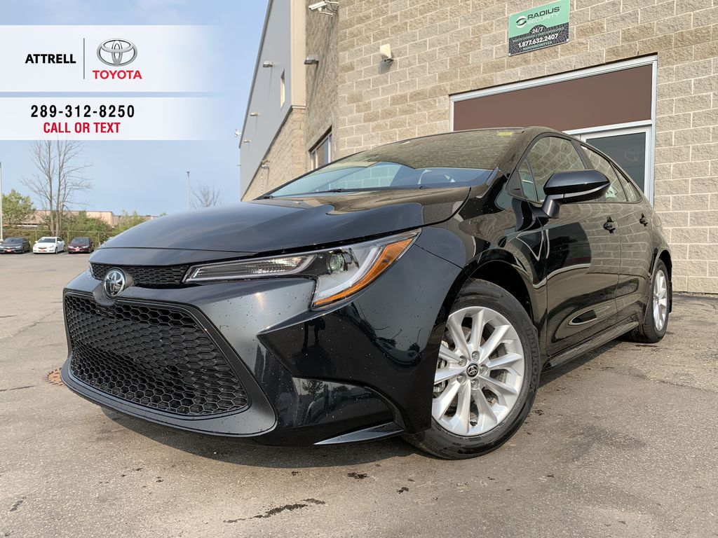 Black[Black Sand Pearl] 2021 Toyota Corolla LE Upgrade Package BPRBLC BM