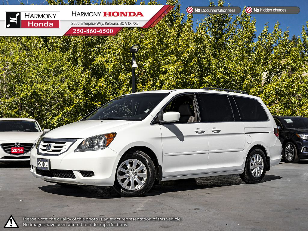 Pre-Owned 2009 Honda Odyssey EX-L - BC VEHICLE - NO ACCIDENTS - ONE OWNER - NON SMOKER - SUNROOF - BACKUP CAM - NEW BRAKES