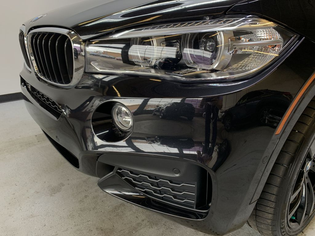 BLACK 2018 BMW X6 xDrive35i Sports Activity Coupe -  NAV, Red Leather, Memory Seat Left Front Head Light / Bumper and Grill in Edmonton AB