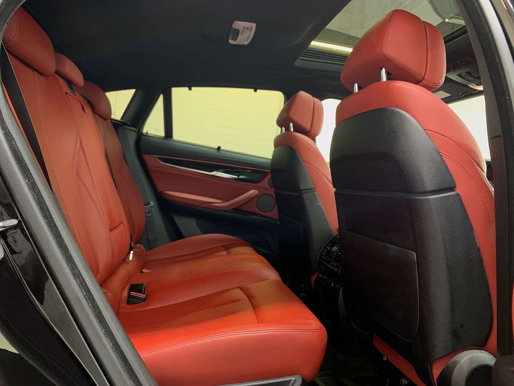 BLACK 2018 BMW X6 xDrive35i Sports Activity Coupe -  NAV, Red Leather, Memory Seat Right Side Rear Seat  Photo in Edmonton AB
