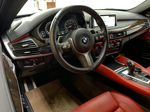 BLACK 2018 BMW X6 xDrive35i Sports Activity Coupe -  NAV, Red Leather, Memory Seat Steering Wheel and Dash Photo in Edmonton AB