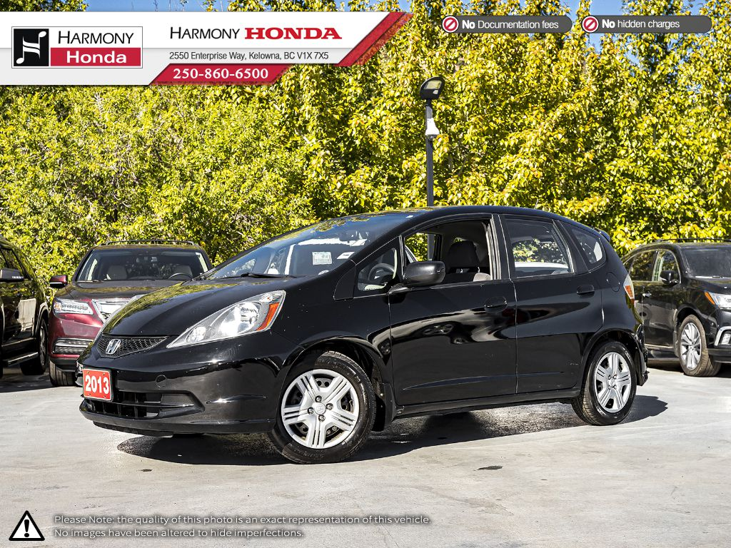 Pre-Owned 2013 Honda Fit LX - BC VEHICLE - BLUETOOTH - NEW FRONT BRAKES - FUEL EFFICIENT