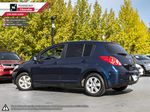 Blue - Blueberry Metallic 2008 Nissan Versa Left Side Rear Seat  Photo in Kelowna BC