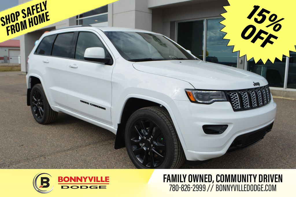 White[Bright White] 2020 Jeep Grand Cherokee