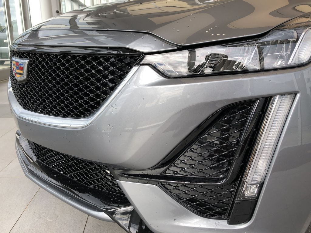 Gray[Satin Steel Metallic] 2020 Cadillac CT5 Left Front Head Light / Bumper and Grill in Edmonton AB