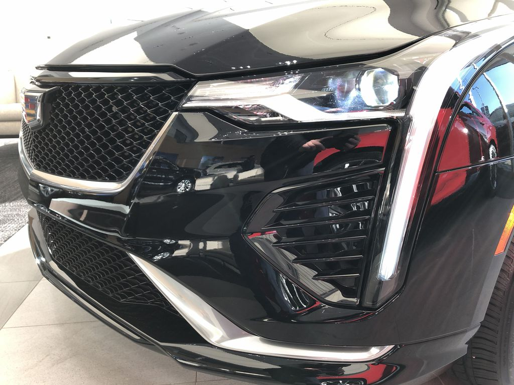 Black[Black Raven] 2020 Cadillac CT4 Left Front Head Light / Bumper and Grill in Edmonton AB