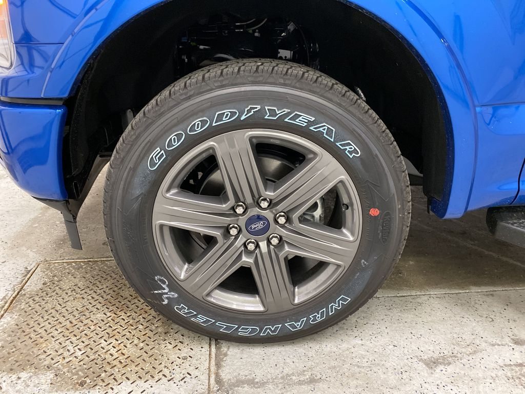Blue[Velocity Blue] 2020 Ford F-150 Left Front Rim and Tire Photo in Dartmouth NS
