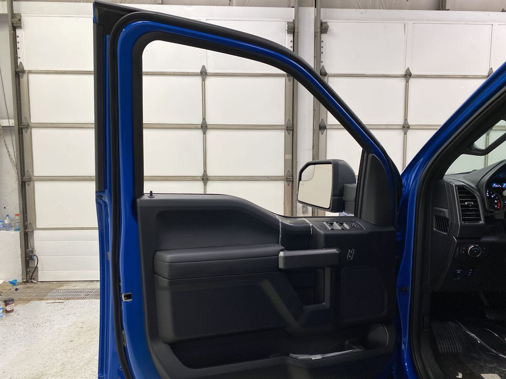 Blue[Velocity Blue] 2020 Ford F-150 Left Front Interior Door Panel Photo in Dartmouth NS