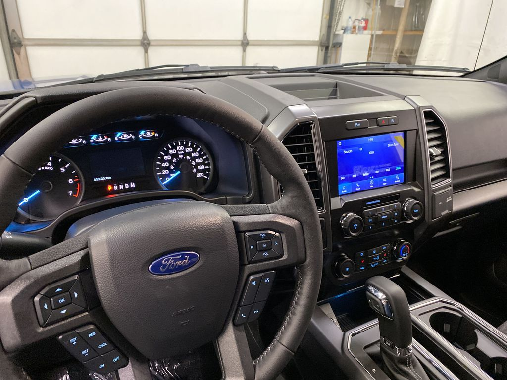 Blue[Velocity Blue] 2020 Ford F-150 Steering Wheel and Dash Photo in Dartmouth NS