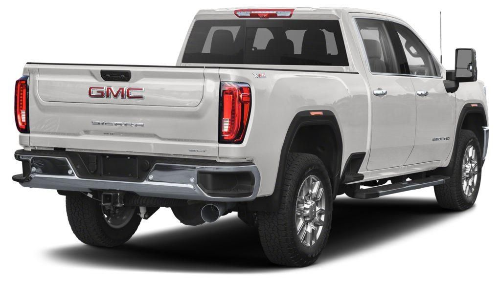 White 2020 GMC Sierra 3500HD Left Front Rim and Tire Photo in Lethbridge AB