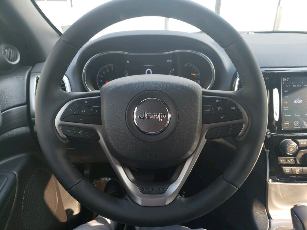 Silver 2020 Jeep Grand Cherokee Front Vehicle Photo in Fort Macleod AB