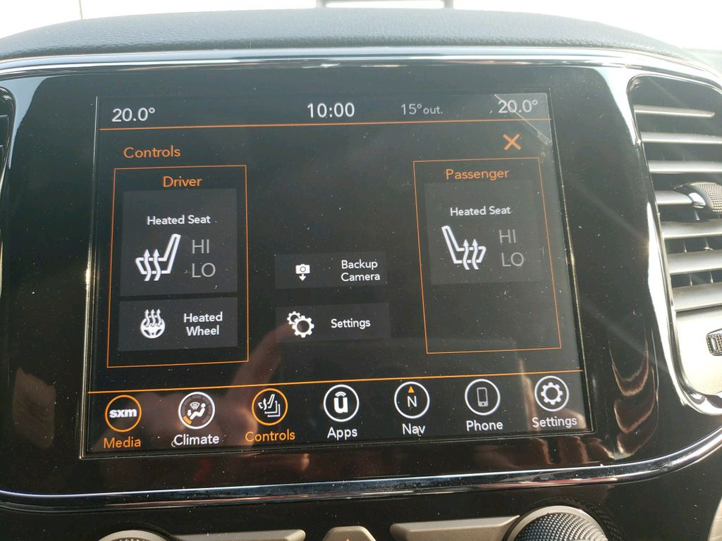 Silver 2020 Jeep Grand Cherokee Steering Wheel and Dash Photo in Fort Macleod AB