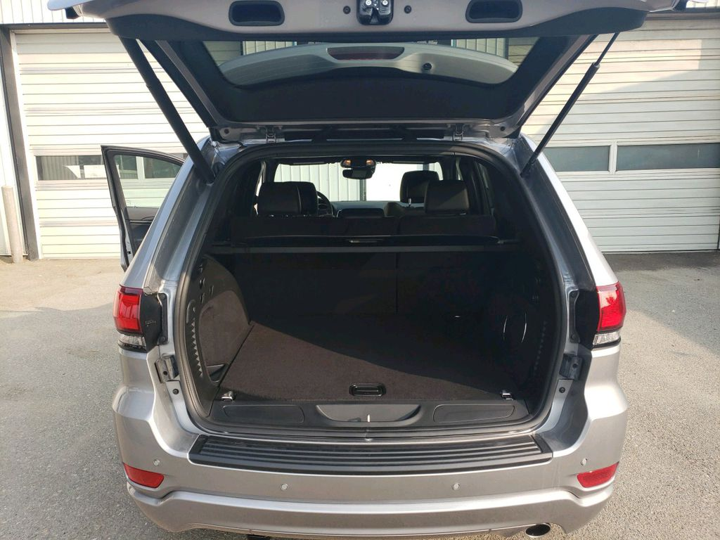 Silver 2020 Jeep Grand Cherokee Left Side Rear Seat  Photo in Fort Macleod AB