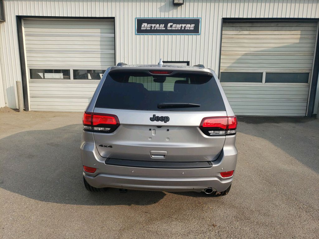 Silver 2020 Jeep Grand Cherokee  Driver's Side Door Controls Photo in Fort Macleod AB