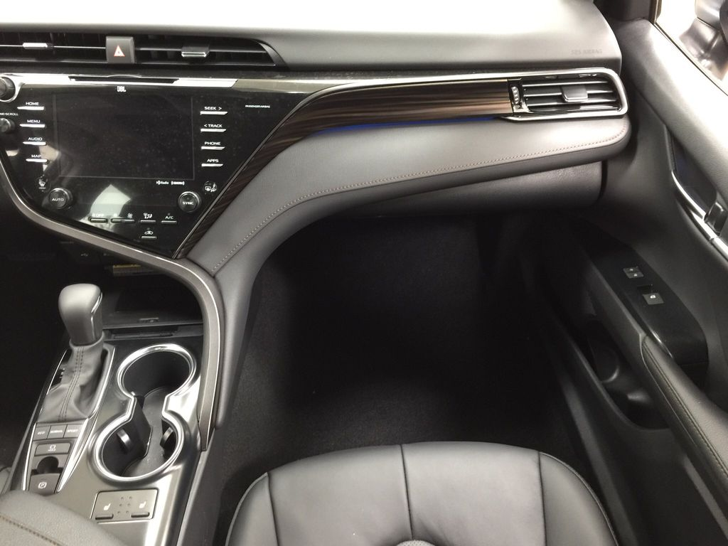 Black[Midnight Black Metallic] 2020 Toyota Camry XLE Right Front Seat Photo in Sherwood Park AB
