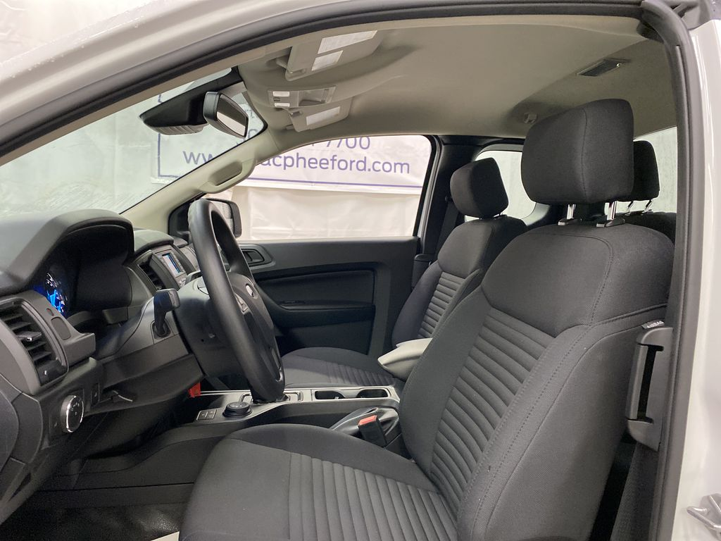 OXFORD WHITE 2020 FORD RANGER Left Front Interior Photo in Dartmouth NS