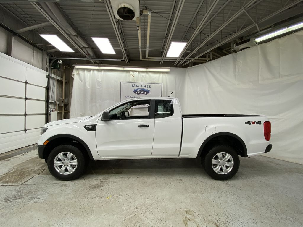 OXFORD WHITE 2020 FORD RANGER Left Side Photo in Dartmouth NS