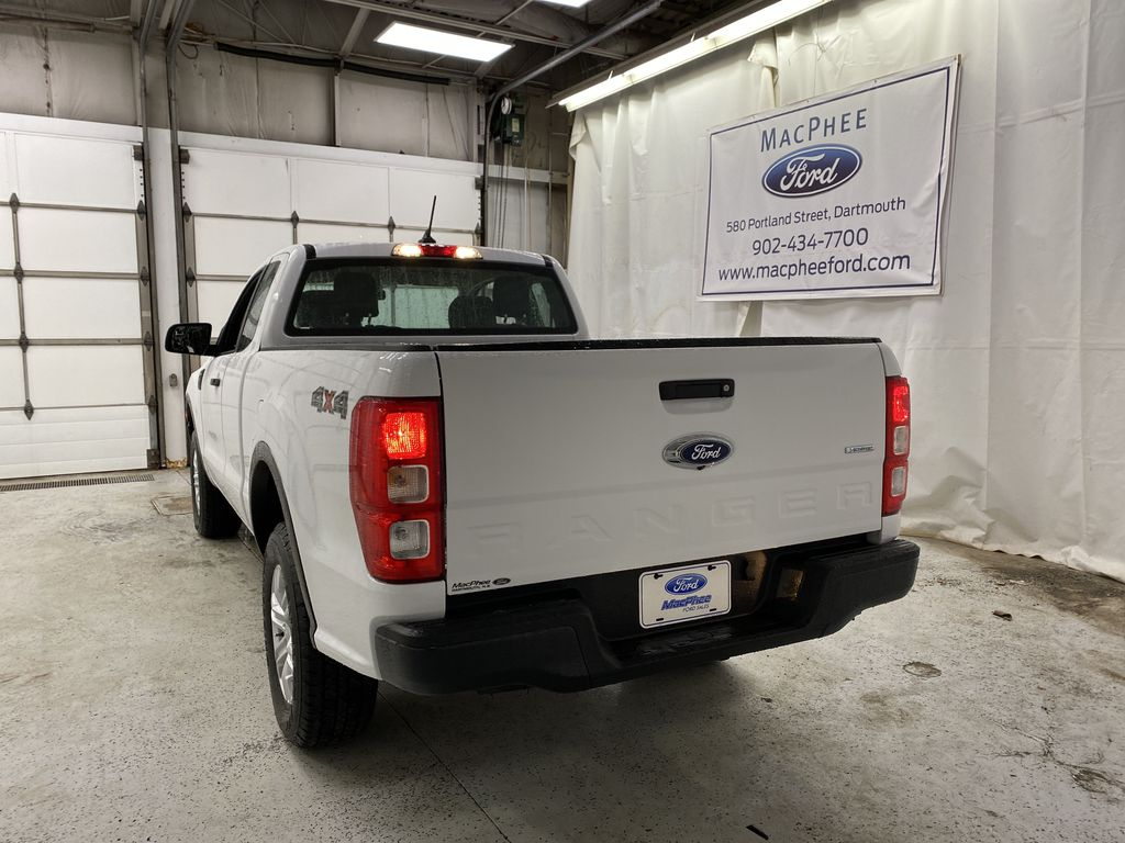 OXFORD WHITE 2020 FORD RANGER Rear of Vehicle Photo in Dartmouth NS