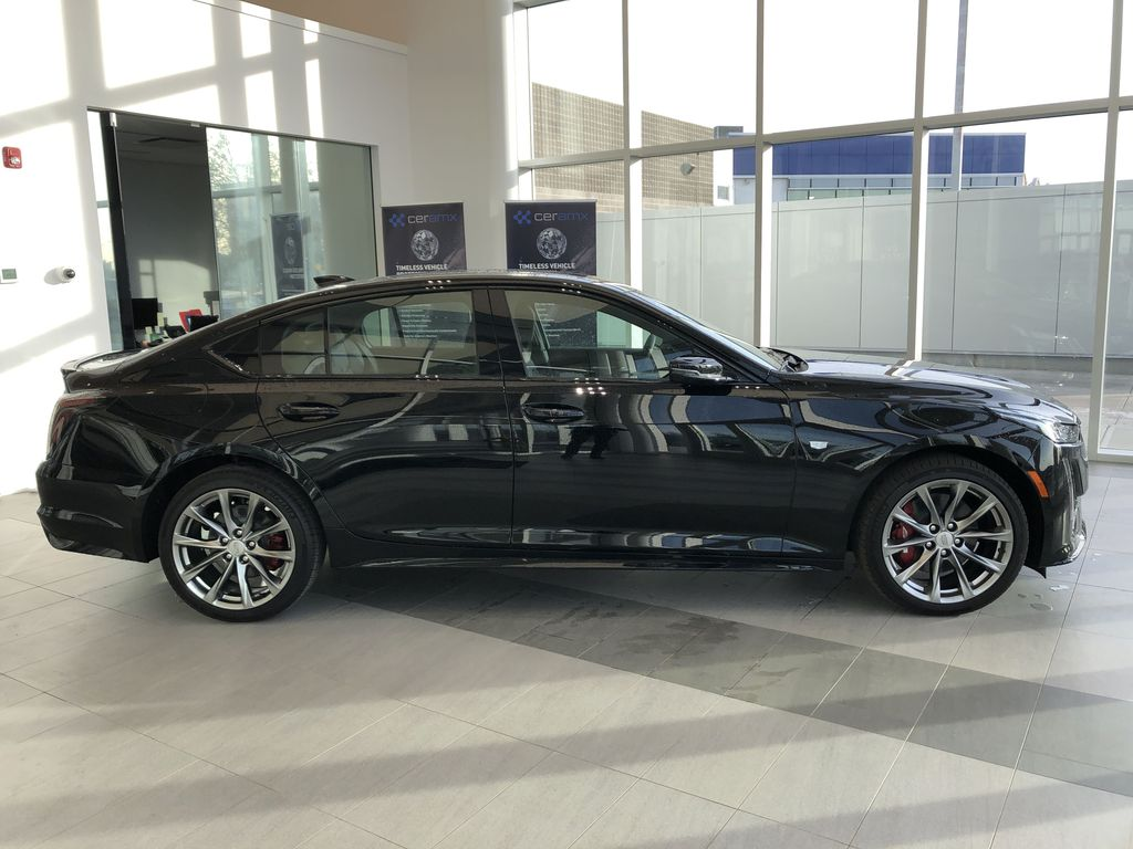 Black[Black Raven] 2020 Cadillac CT5 Right Side Photo in Edmonton AB