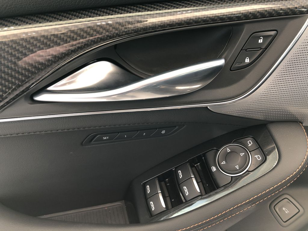 Black[Black Raven] 2020 Cadillac CT5  Driver's Side Door Controls Photo in Edmonton AB
