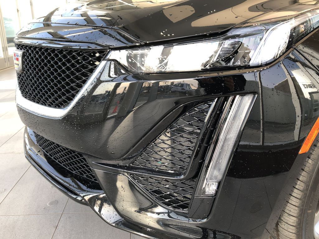 Black[Black Raven] 2020 Cadillac CT5 Left Front Head Light / Bumper and Grill in Edmonton AB
