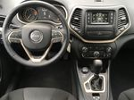 White[Bright White] 2016 Jeep Cherokee North Edition Steering Wheel and Dash Photo in Kelowna BC