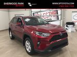 Red[Ruby Flare Pearl] 2020 Toyota RAV4 XLE Hybrid Primary Listing Photo in Sherwood Park AB