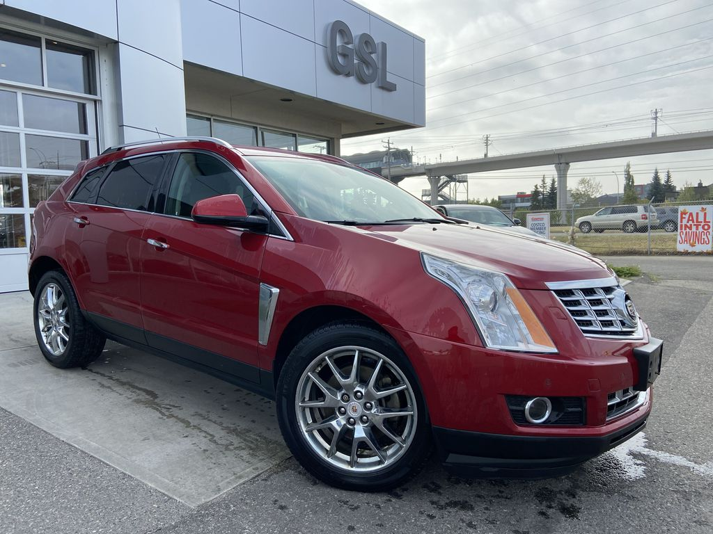 Red[Crystal Red Tintcoat] 2014 Cadillac SRX Performance
