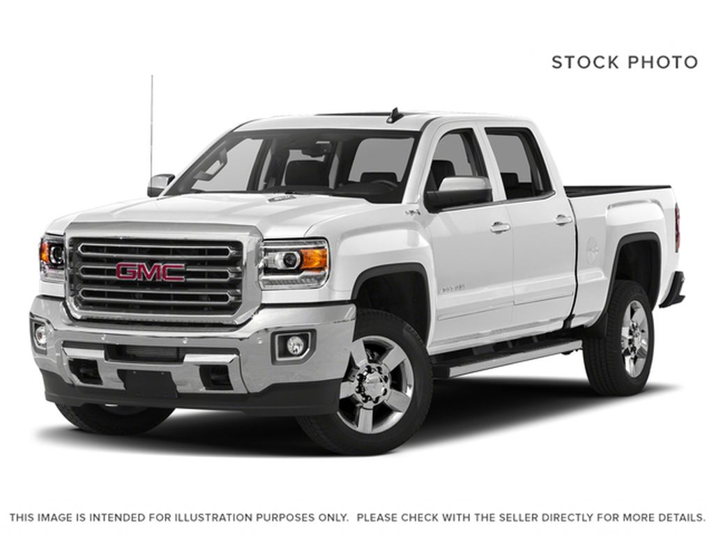White 2018 GMC Sierra 2500HD