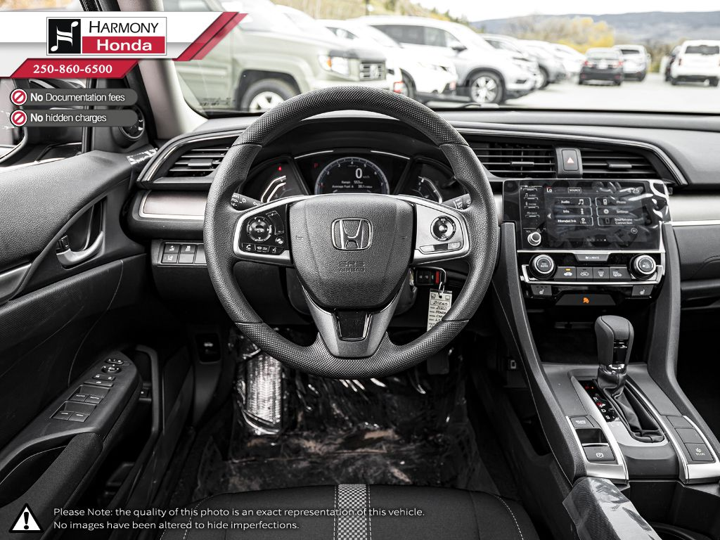 BLACK NH-731P 2020 Honda Civic Sedan Right Front Corner Photo in Kelowna BC