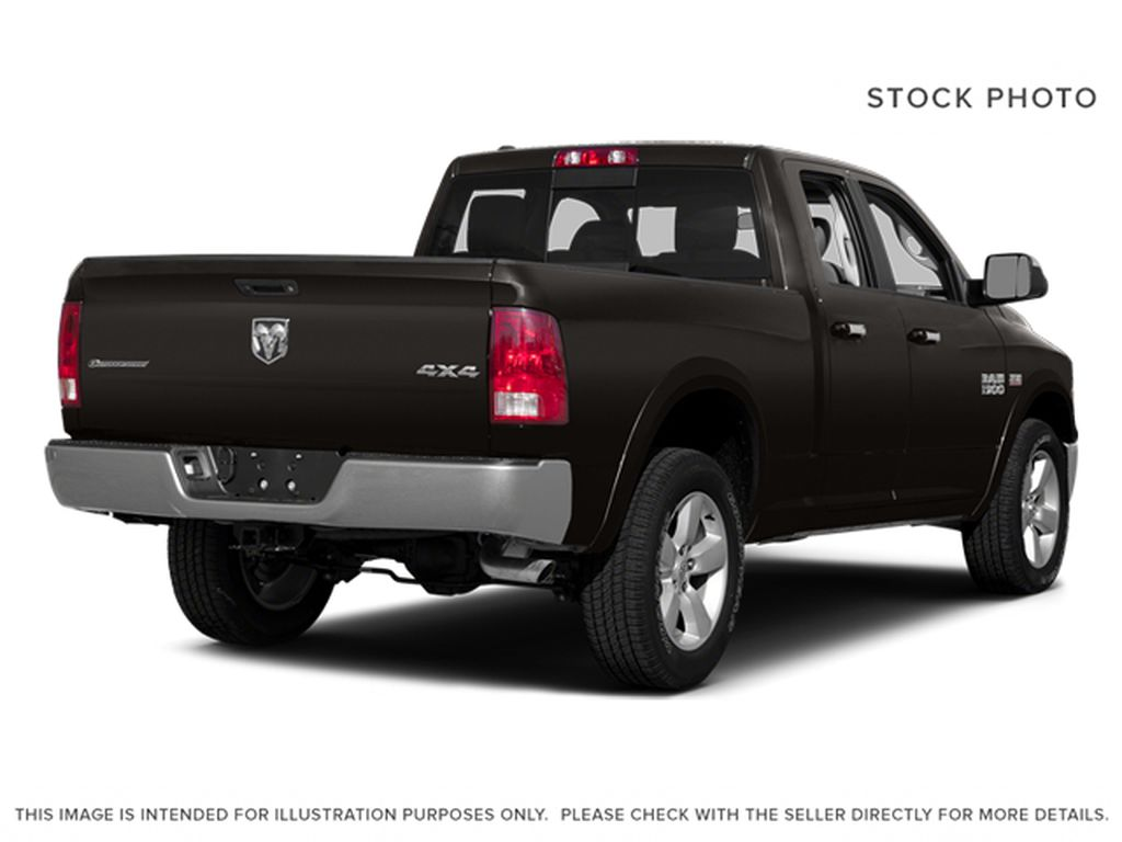 Black[Black Clearcoat] 2014 Ram 1500 Right Rear Corner Photo in Dartmouth NS