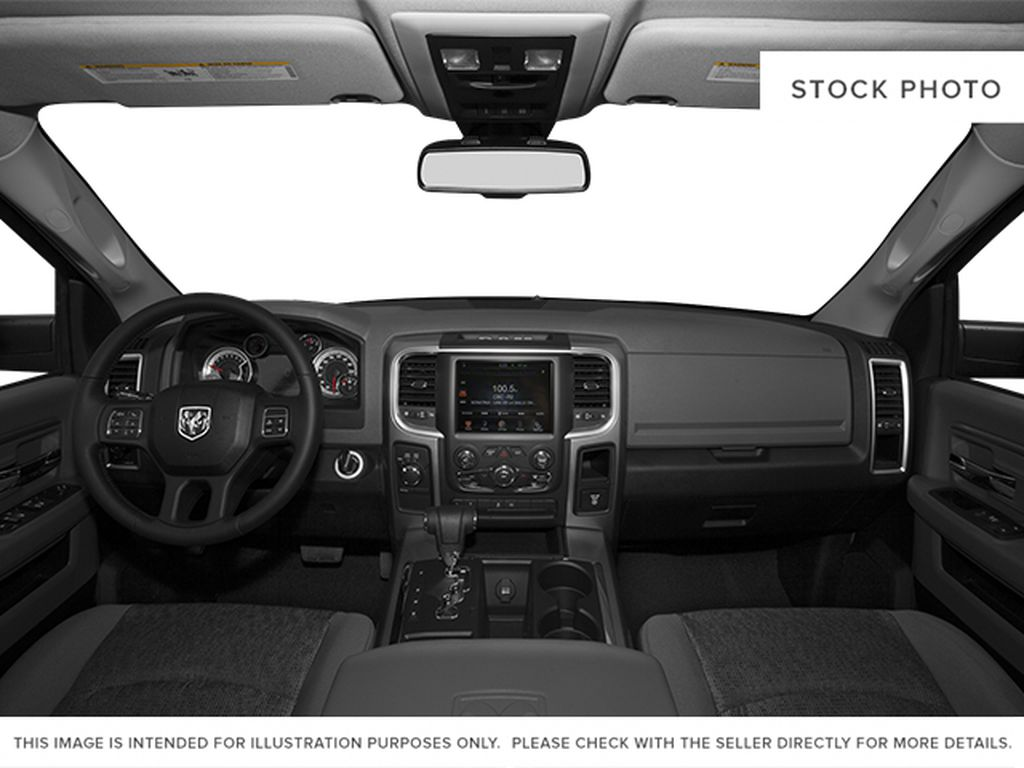 Black[Black Clearcoat] 2014 Ram 1500 Central Dash Options Photo in Dartmouth NS