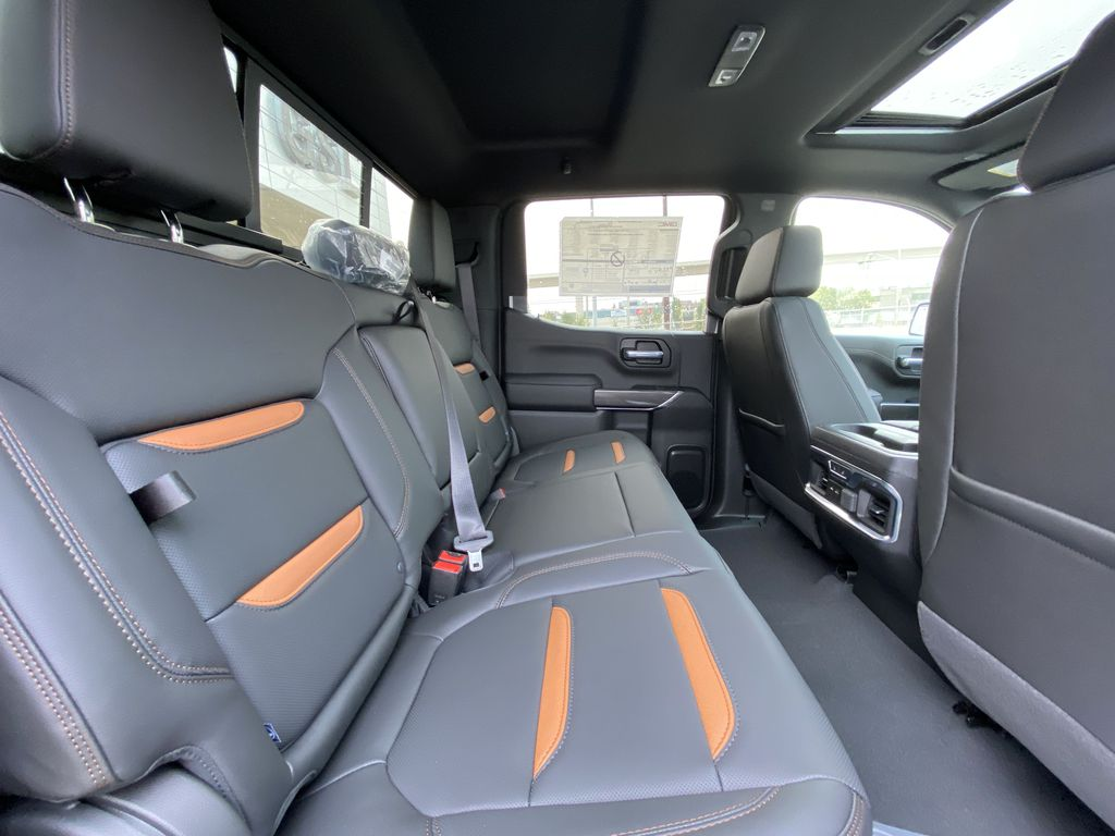 Blue[Pacific Blue Metallic] 2020 GMC Sierra 1500 AT4 Right Side Rear Seat  Photo in Calgary AB