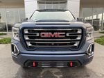 Blue[Pacific Blue Metallic] 2020 GMC Sierra 1500 AT4 Front Vehicle Photo in Calgary AB