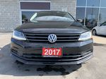 Black[Deep Black Pearl] 2017 Volkswagen Jetta Sedan Left Side Photo in Brampton ON