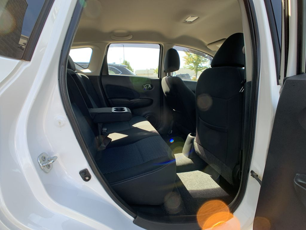 White[Aspen White Pearl] 2014 Nissan Versa Note Right Side Rear Seat  Photo in Brampton ON