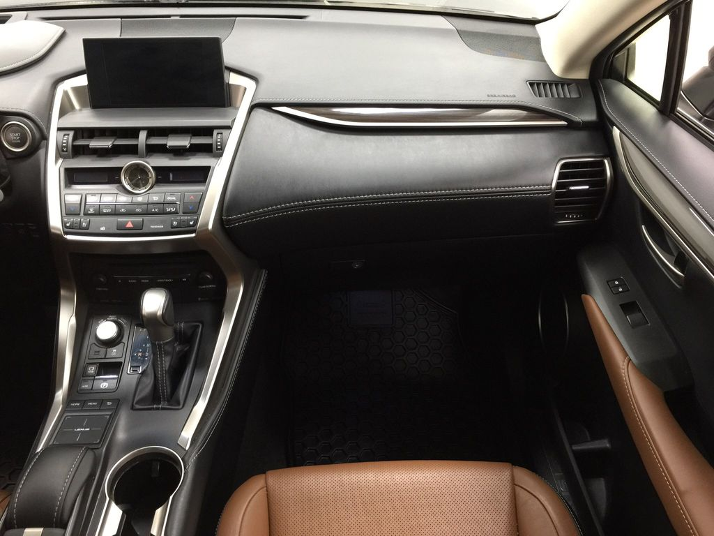 Gray[Nebula Gray Pearl] 2015 Lexus NX 200t Right Front Seat Photo in Sherwood Park AB