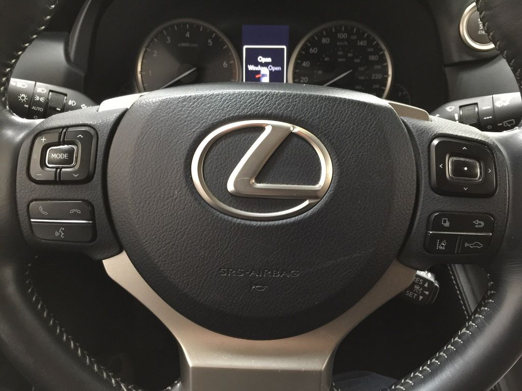 Gray[Nebula Gray Pearl] 2015 Lexus NX 200t Steering Wheel and Dash Photo in Sherwood Park AB