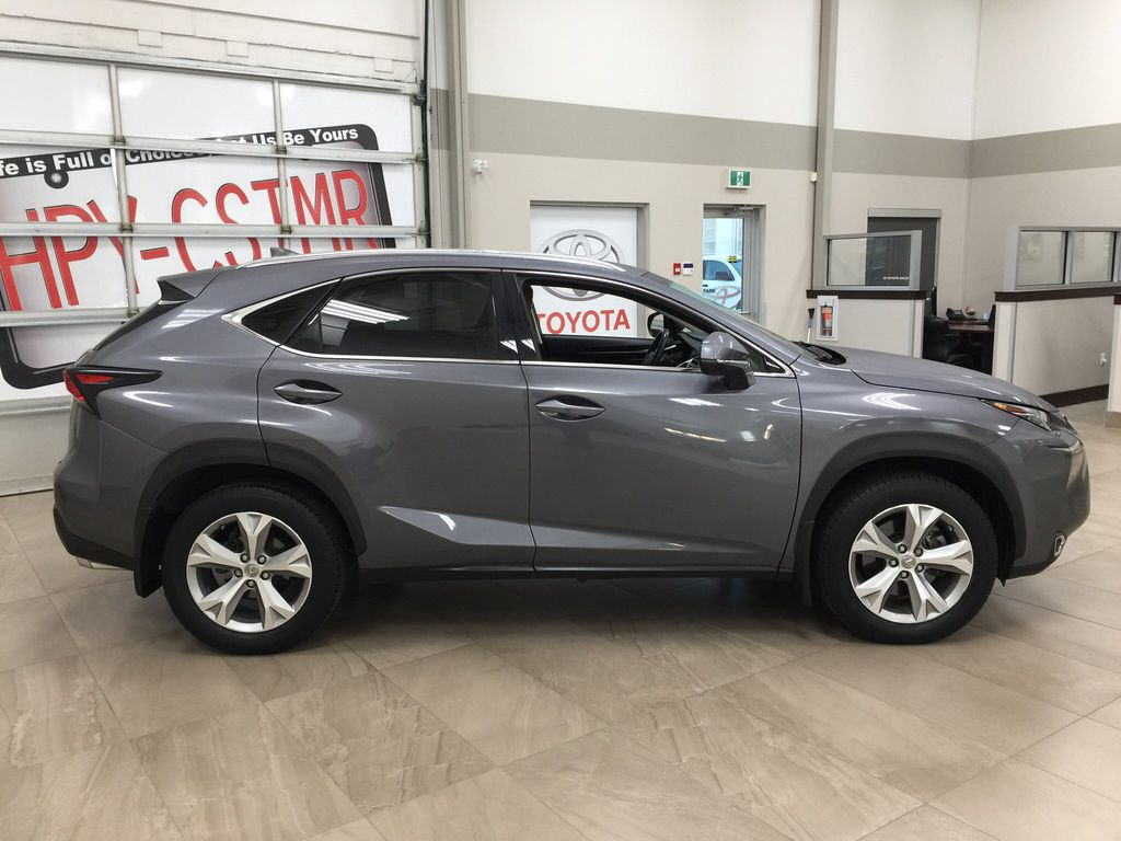 Gray[Nebula Gray Pearl] 2015 Lexus NX 200t Right Side Photo in Sherwood Park AB