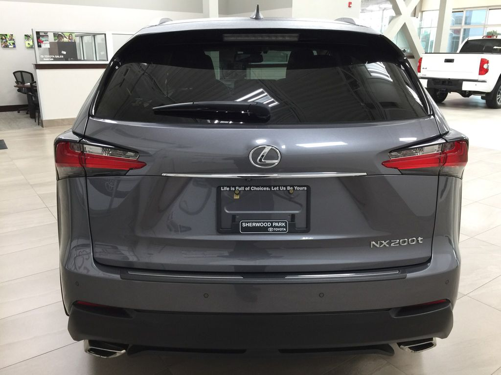 Gray[Nebula Gray Pearl] 2015 Lexus NX 200t Rear of Vehicle Photo in Sherwood Park AB