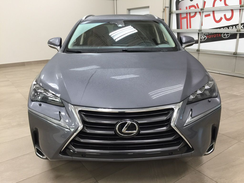 Gray[Nebula Gray Pearl] 2015 Lexus NX 200t Front Vehicle Photo in Sherwood Park AB