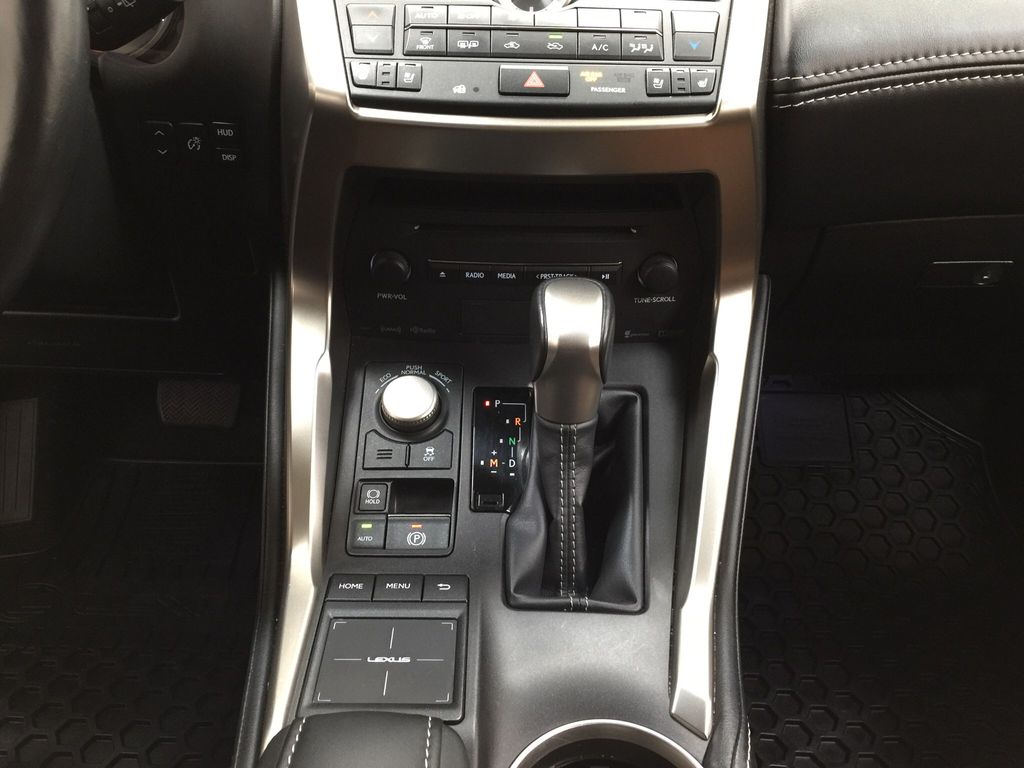 Gray[Nebula Gray Pearl] 2015 Lexus NX 200t Lower Dash Photo in Sherwood Park AB