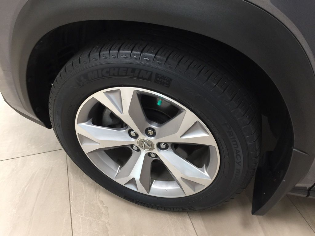 Gray[Nebula Gray Pearl] 2015 Lexus NX 200t Left Front Rim and Tire Photo in Sherwood Park AB