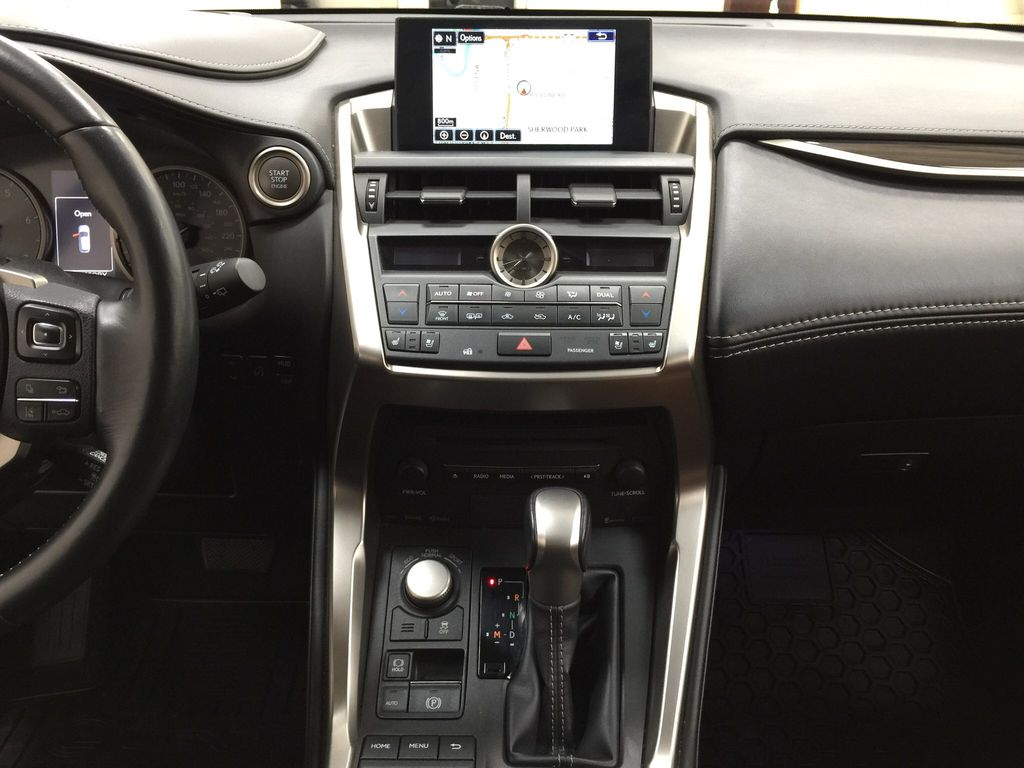 Gray[Nebula Gray Pearl] 2015 Lexus NX 200t Central Dash Options Photo in Sherwood Park AB