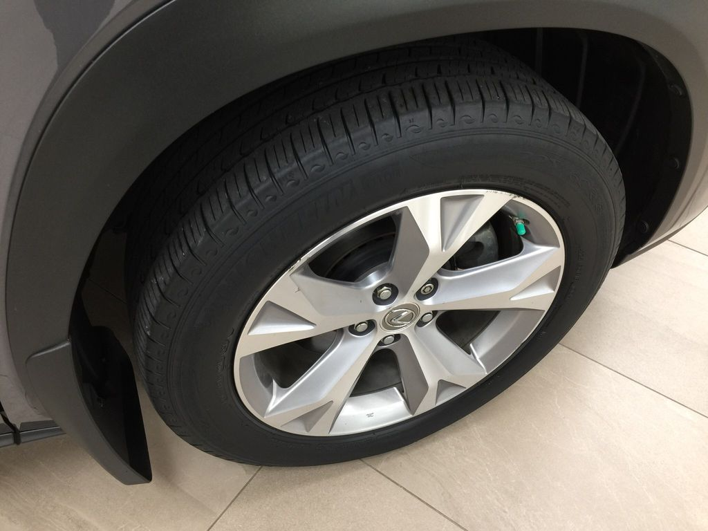 Gray[Nebula Gray Pearl] 2015 Lexus NX 200t Right Front Rim and Tire Photo in Sherwood Park AB
