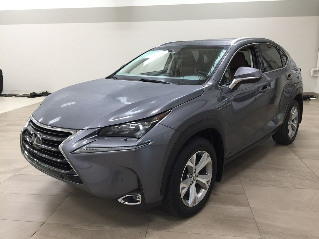 Gray[Nebula Gray Pearl] 2015 Lexus NX 200t Left Front Corner Photo in Sherwood Park AB