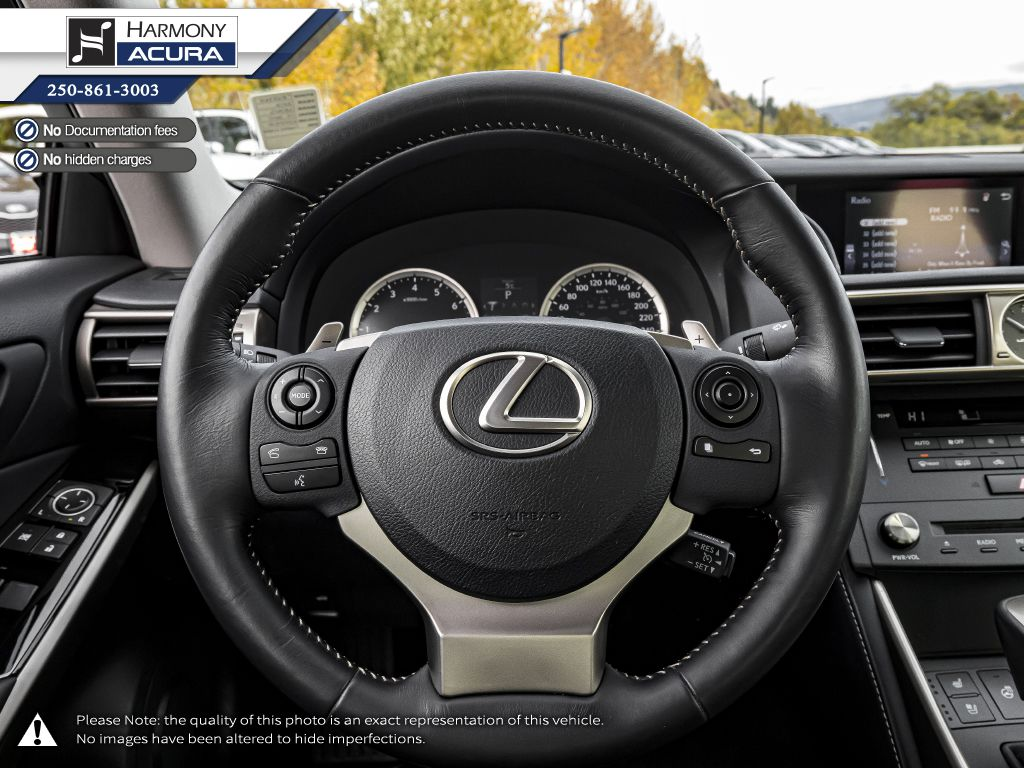 Copper 2016 Lexus IS 300 Right Side Front Seat  Photo in Kelowna BC