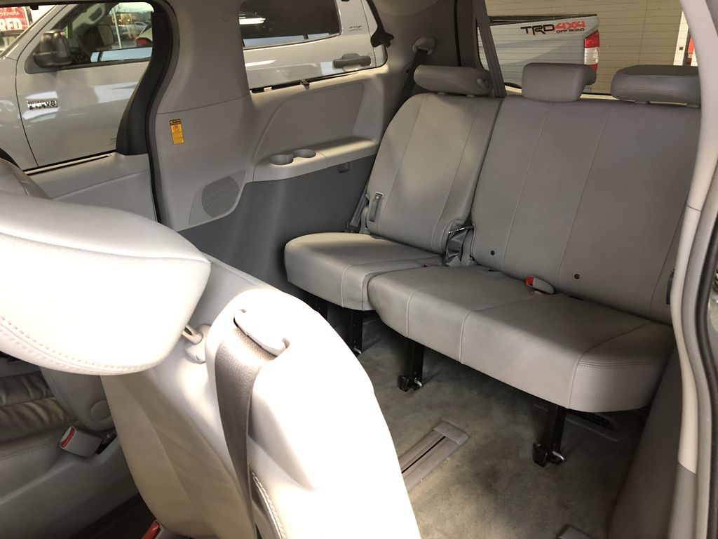 Silver 2014 Toyota Sienna XLE 7-Passenger Left Driver Controlled Options Photo in Edmonton AB